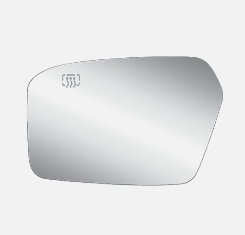 Fits 07-10 Linc MKZ 06-10 Fusion, Milan Lt Driver Mirror Glass Heated w/ Holder