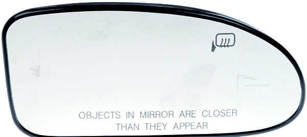 Fits 04-07 Focus Right Pass Heated Convex Mirror Glass w/ Holder