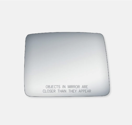 Fits 04-14 F150 Right Pass Upper of 2 Piece Mirror Glass, Lens Only w/Adhesive