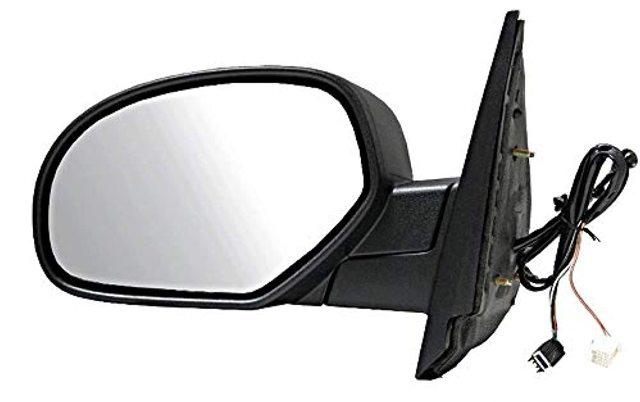 BAP Fits 07-13 Escalade ESV Silverado Sierra Left Driver Pwr Mirror Ht PuddleManFold