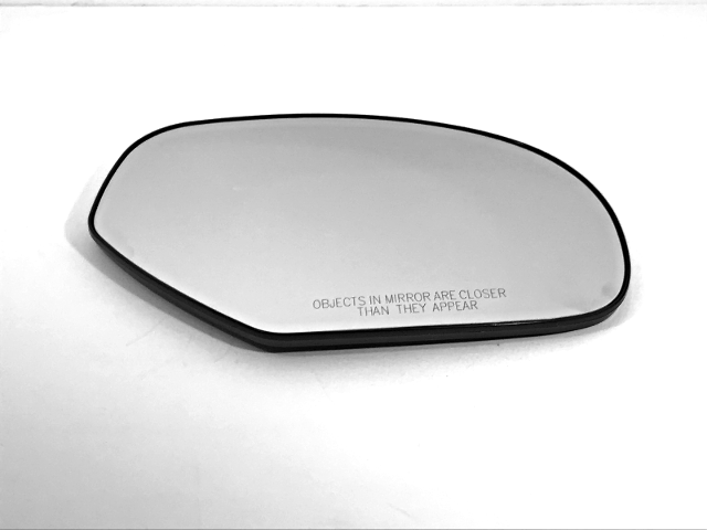 Fits 07-14 Chevy GMC Trucks, SUV Right Pass Heated Mirror Glass  w/Holder