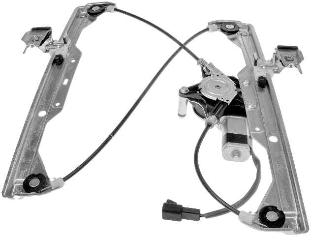 For 06-11 HHR Front Driver Window Regulator With Motor