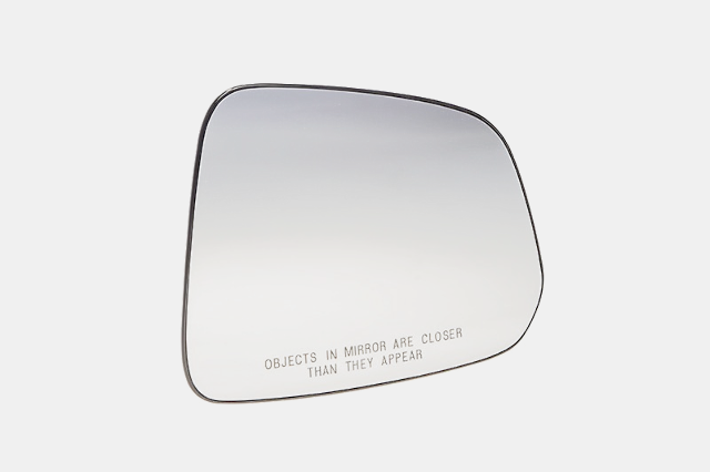 Fits 08-10 Vue, 12-15 Captiva Sport Right Pass Heated Mirror Glass w/ Holder OEM