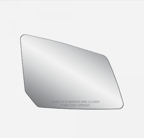 Fits 09-17 Traverse, 07-16 Acadia, 07-10 Outlook Passenger Mirror Glass Heated* w/Holder