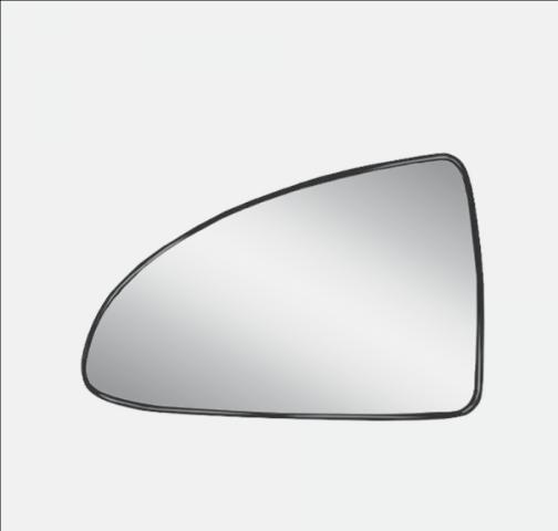 Fits 04-08 Malibu / Maxx / G6  Left Heated Mirror Glass  w/Holder non Foldaway