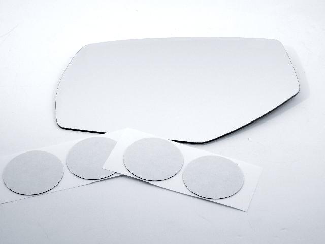Fits 14-18 1500 Silverado, Sierra 15-19 2500, 3500 Left Heated Mirror Glass Lens