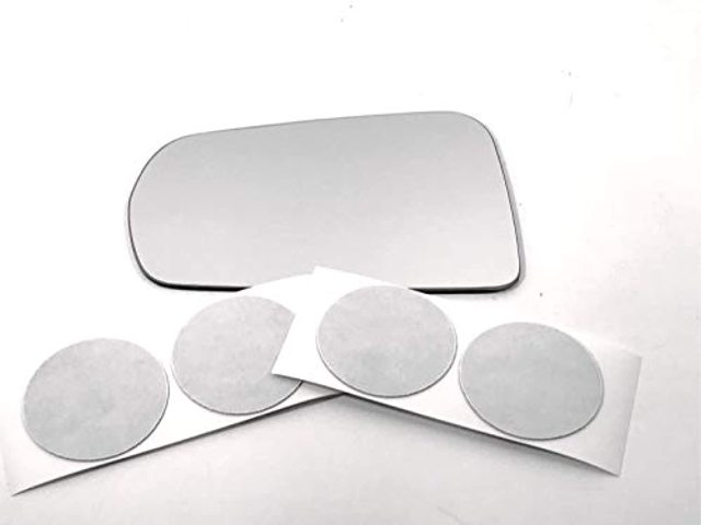 Fits 14-19 Corvette Left Driver Mirror Glass Lens w/Adhesive See Details