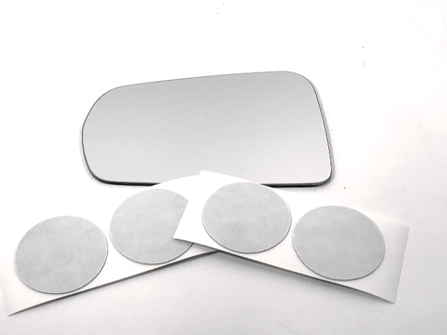 Fits 14-19 Corvette Left Driver Mirror Glass Lens w/ Adhesive See Details