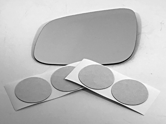 Fits 14-16 Spark Left Driver Heated Mirror Glass Lens w/ Adhesive USA