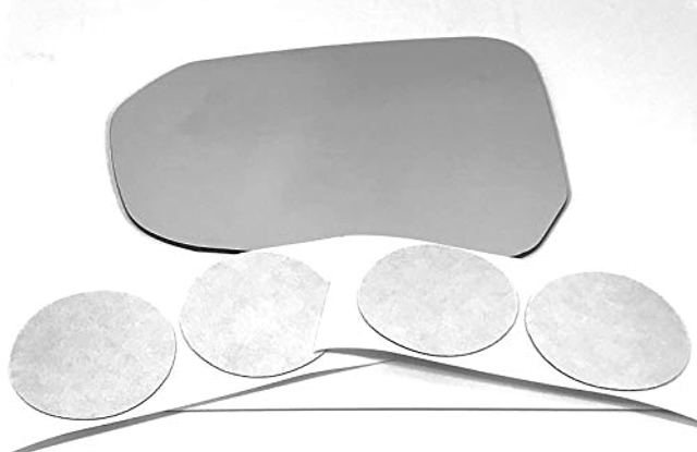 Fits 16-19 Volt Left Driver Side Mirror Glass Lens w/Adhesive USA