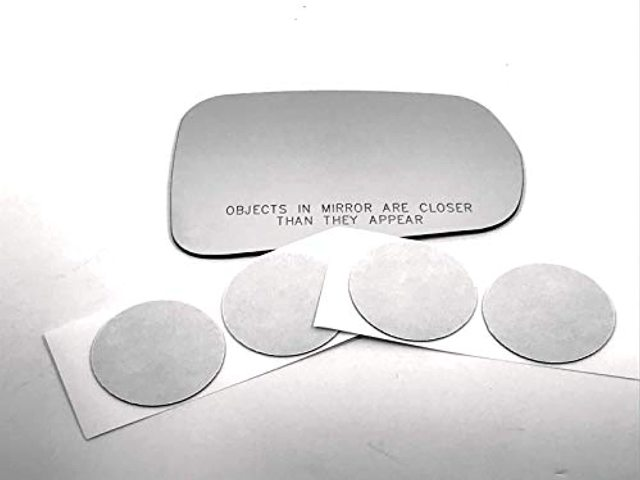 AutoMirrors for 14-19 Corvette Right Passenger Mirror (Glass Lens) w/Adhesive