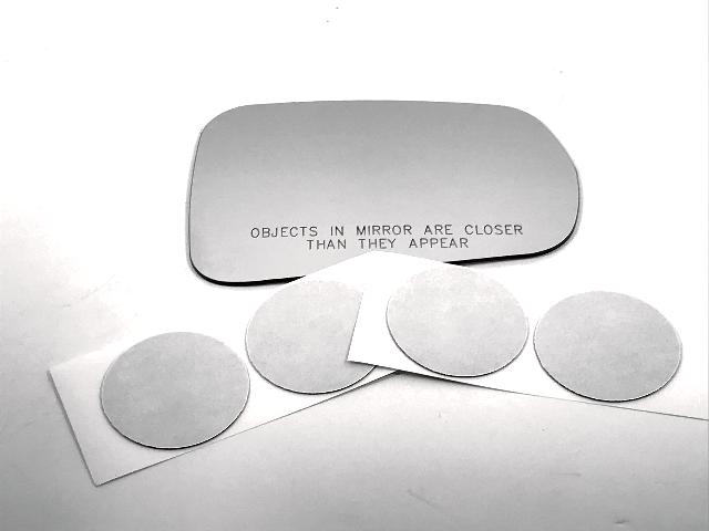 For 14-19 Corvette Right Passenger Mirror (Glass Lens) w/Adhesive