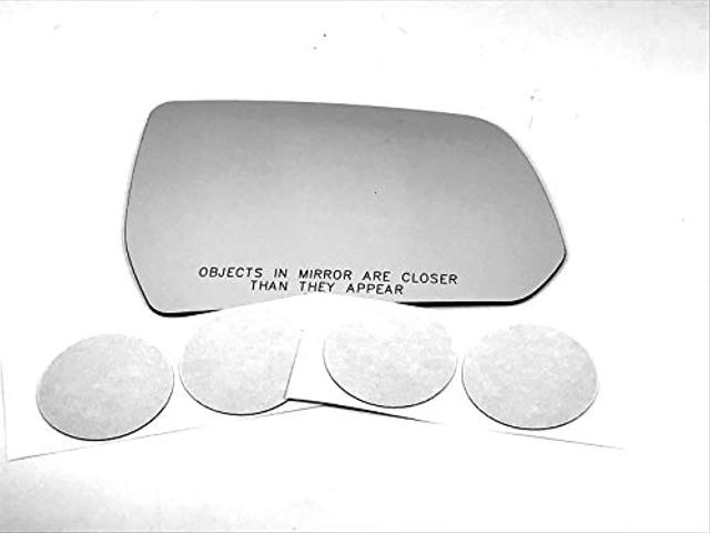 VAM Fits 17-19 GM Acadia Right Pass Side Mirror Glass Lens w/Adhesive