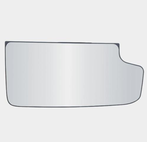Fits 14-18 Silverado, Sierra Right Pass Lower Tow Mirror Glass w/ Holder