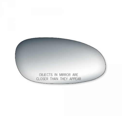 Fits 97-05 Century, Regal, Intrigue Right Pass Mirror Glass Lens w/Silicone