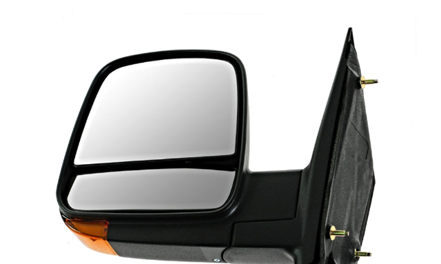 For 08-17 Express Savana Van Side View Power Mirrors Heat Signal Dual Glass Pair