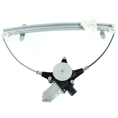 For 06-14 Ridgeline Front Passenger Window Regulator With Motor 2 Pin Connector