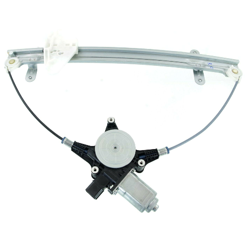 For 06-14 Ridgeline Front Driver Window Regulator With Motor 6 Pin Connector