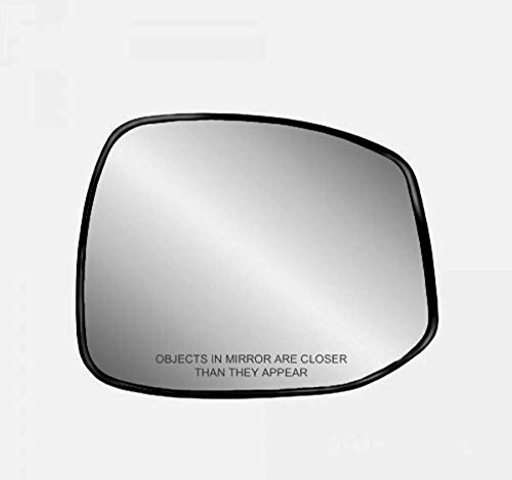 K Source Fits 12-13 Civic Right Passenger Heated Mirror Glass w/Holder Non Hybrid
