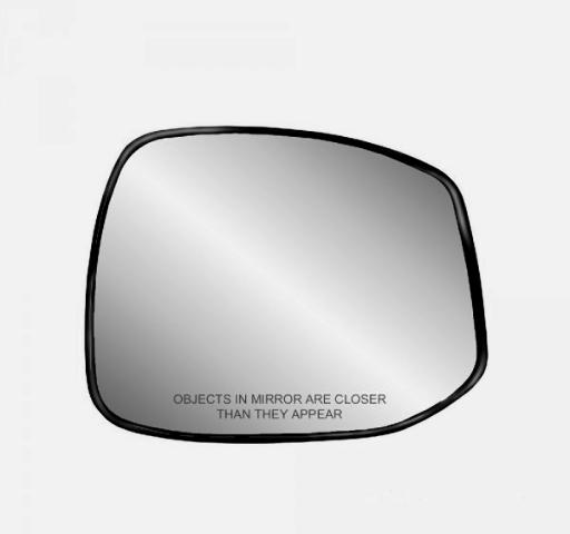 Fits 12-13 Honda Civic Right Passenger Heated Mirror Glass w/Holder  non Hybrid