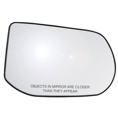 Fits 08-11 Civic 4dr Sedan Right Passenger Heated Mirror Glass w/ Holder