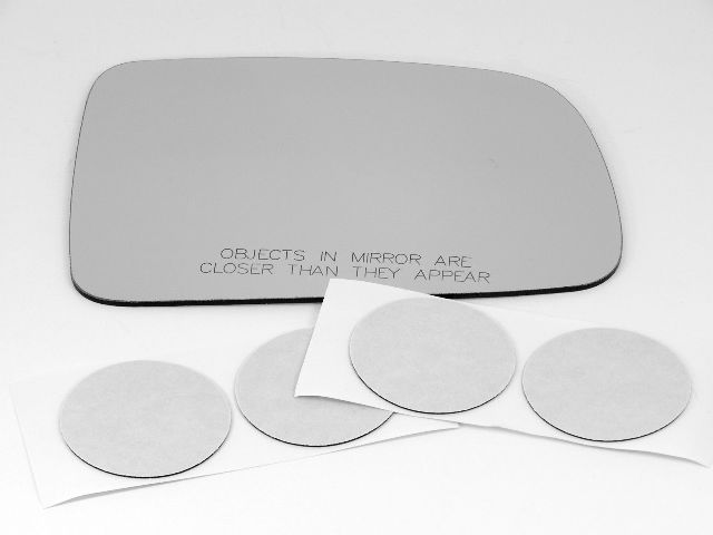 Fits 88-91 Civic Right Pass Manual Mirror Glass Lens w/ Adhesive