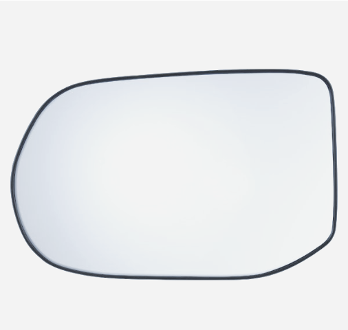 Fits 08-11 Civic 4dr Sedan Left Driver Mirror Glass w/Holder non Hybrid