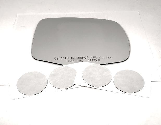Fits  16-19 Pilot, 17-19 Ridgeline Right Pass Mirror Glass Lens w/Adhesive