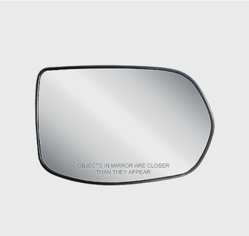Fits 07-11 Honda CR-V Right Passenger Convex Mirror Glass with Rear Back Plate