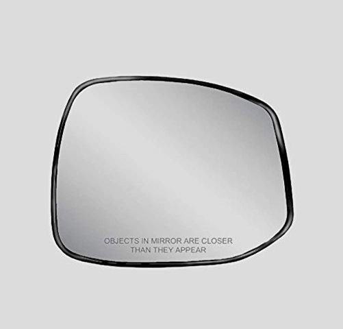 K Source Fits 12-13 Civic Right Passenger Mirror Glass w/Holder Non Hybrid
