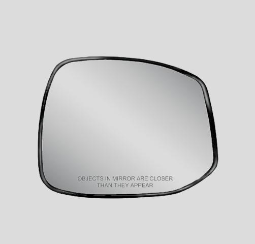 Fits 12-13  Civic Right Passenger Mirror Glass w/ Holder  non Hybrid