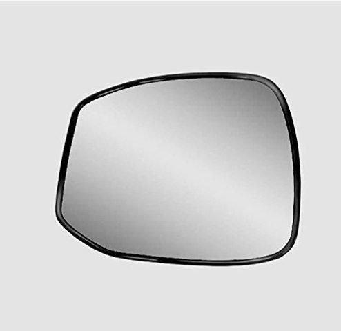 K Source Fits 12-13 Civic Left Driver Mirror Glass w/Holder Non Hybrid