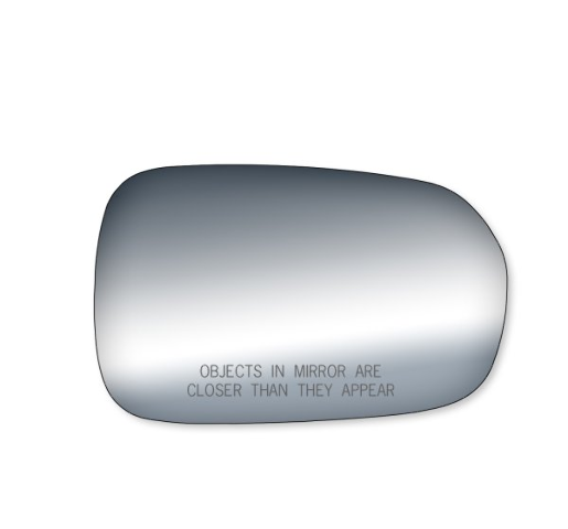Fits 98-02 HD Accord  Right Pass Convex Mirror Glass Lens w/ Adhesive