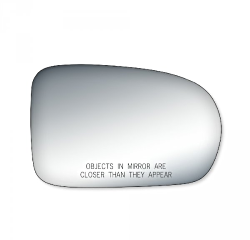 Fits 01-05 Civic Coupe, Sedan Right Pass Convex Mirror Glass Lens w/ Adhesive