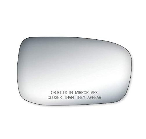 VAM Right Pass Convex Mirror Glass Lens w/Adhesive for 03-07 Accord