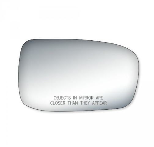 Right Pass Convex Mirror Glass Lens w/Adhesive for 03-07 Honda Accord