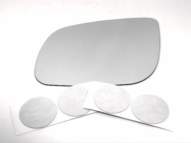 Fits 15-19 Kia Sedona Left Driver Mirror Glass Lens w/ Adhesive
