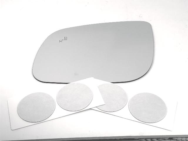 Fits 15-19 Kia Sedona Left Driver Mirror Glass Lens w/BlindSpot Icon* w/Adhesive
