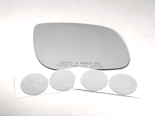 Fits 15-19 Kia Sedona Right Passenger Convex Mirror Glass Lens USA w/ Adhesive