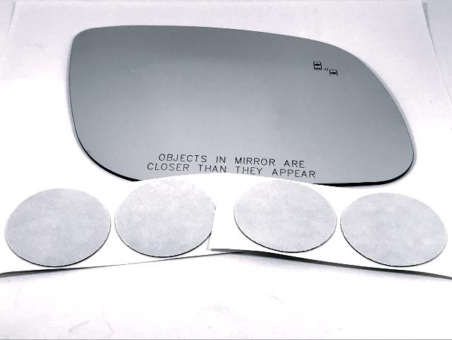 Fits 15-19 Kia Sedona Right Pass Mirror Glass Lens w/BlindSpot Icon* w/Adhesive