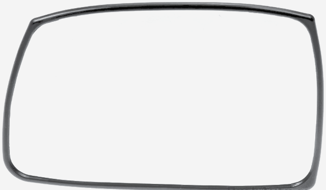 Fits 05-08 Hy Tiburon  Left Driver Mirror Glass w/Holder Heat or non Heat
