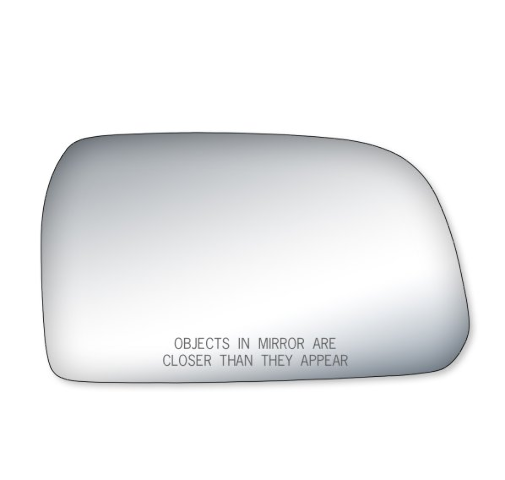 Fits 05-09 Tucson Right Passenger Convex Mirror Glass Lens w/Silicone