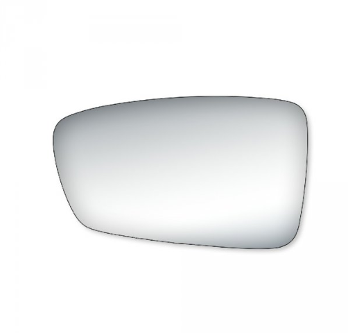 Fits 11-14 Sonata Left Driver Mirror Glass Lens  Models w/out Signal in Housing