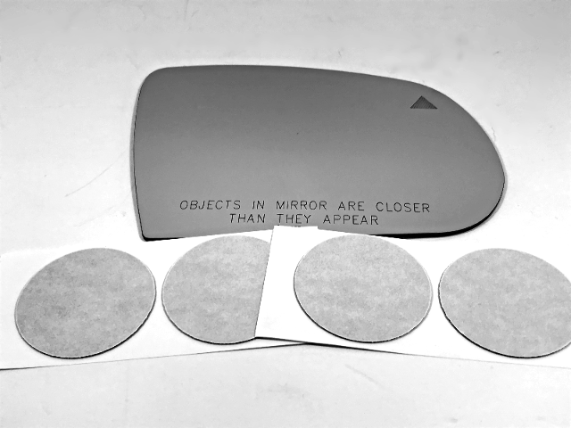 Fits 14-19 Jeep Cherokee 18-19 Compass Right Mirror Glass Lens w/Blindspot Icon
