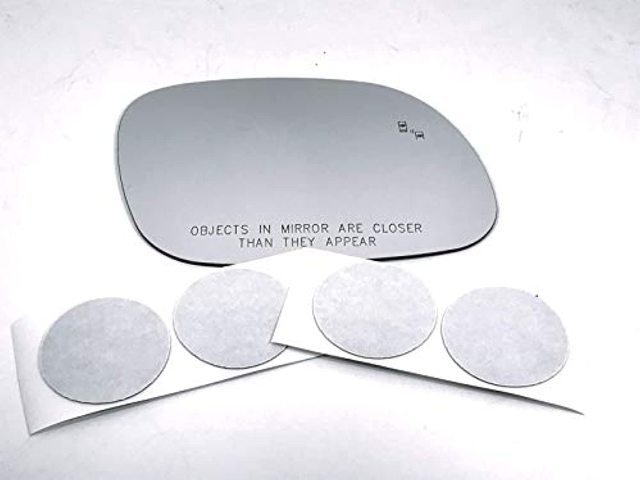 Right Pass Mirror Glass Lens w/Etched BlindSpot Icon for 17-20 Soul w/Adhesive