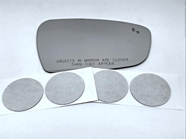 Fits 17-19 Kia Forte Right Pass Convex Mirror Glass Lens w/ BlindSpot Icon*