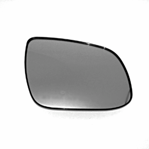 Right Passenger Side Mirror Glass Heated w/ Rear Back Plate for 10-13 Kia Forte OE