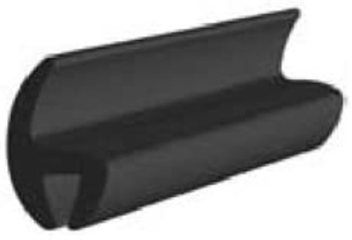 """Universal Rubber Moldings 16mm (5/8"""") x 75' with Clean-Stick butyl"""