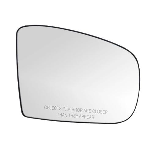 Heated Right Passenger Mirror Glass for 02-05 Mercedes ML w/ Rear Holder