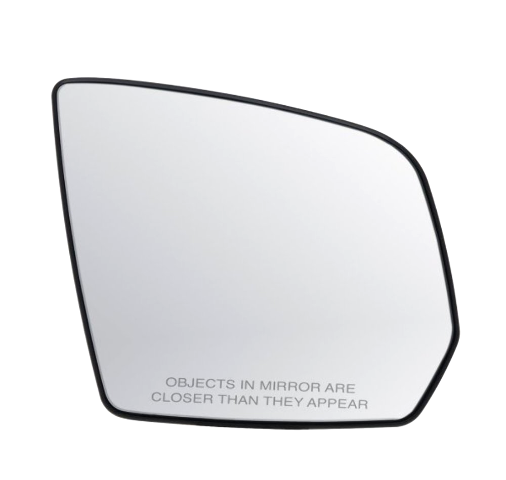 Fits 08-10 Mercedes GL, ML Right Passenger Heated Convex Mirror Glass w/Holder